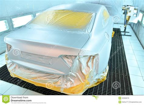 car painting free car painting in progress royalty free stock images image