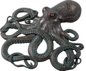 octopus decor wholesale fiberglass resin figures mermaids pirates portholes buddha animals wholesale