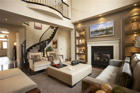 small room with high celings high ceiling family room decorating ideas