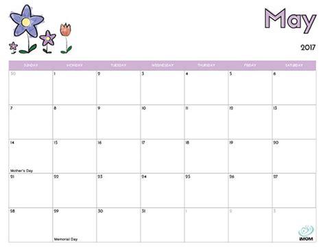 kindergarten blank calendar calendar template 2016