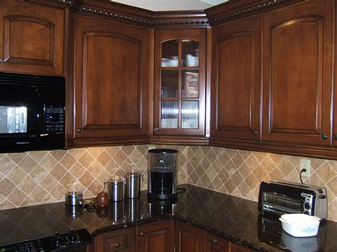 light colored tile backsplash ideas with dark cabinets peacock green granite installed design photos and reviews