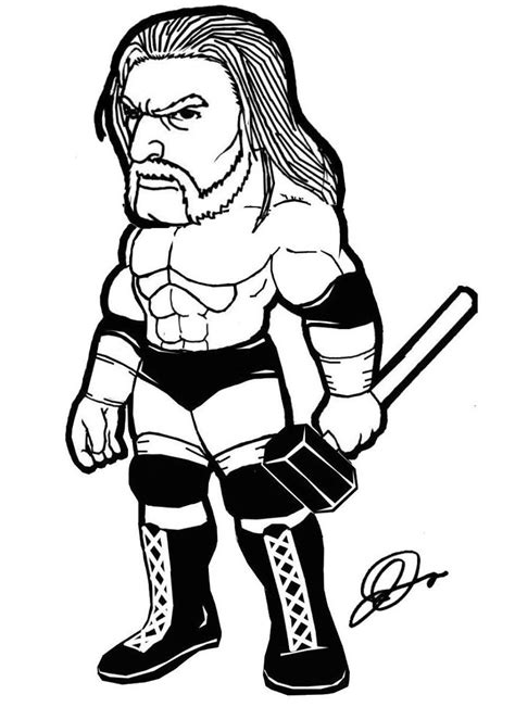 paige wwe coloring page triple h coloring pages az coloring pages