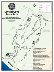 Crystal Cove State Park Map by Files Afoot Amp Fit In Peters Canyon Walks Gt Hikes