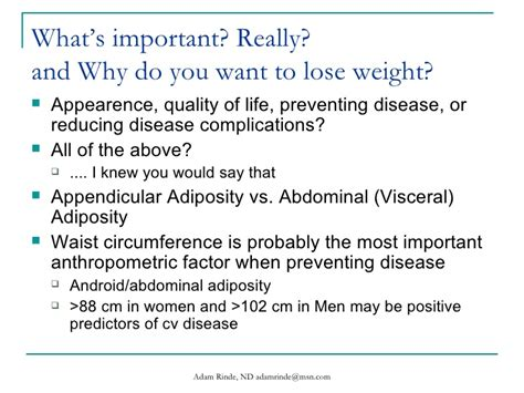 Why Do You Want To Lose Weight by All Categories Conceptposts