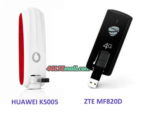 Modem Huawei K5005 will you choose vodafone k5005 or zte mf820d 4g lte
