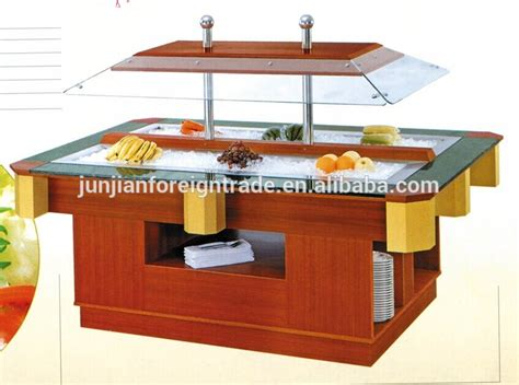 restaurant buffet equipment restaurant buffet equipment and fan cooling marble top salad bar with ce rohs approval view