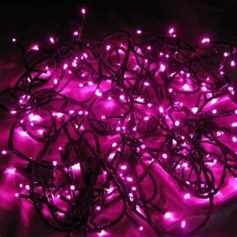 Pink Outdoor Lights 200 Pink Led Chaser String Lights