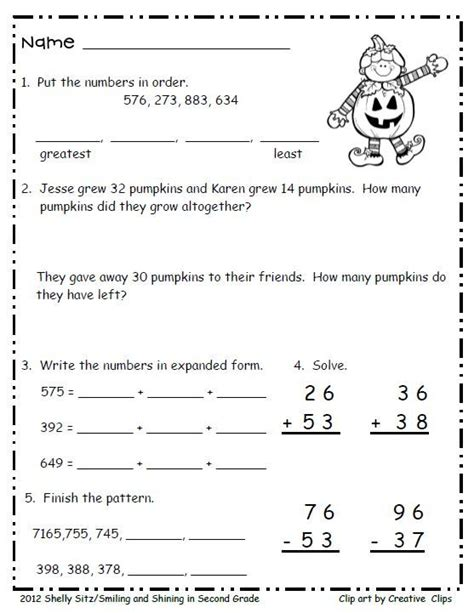 printable practice math sheets for 2nd grade second grade math practice free ordinal numbers number