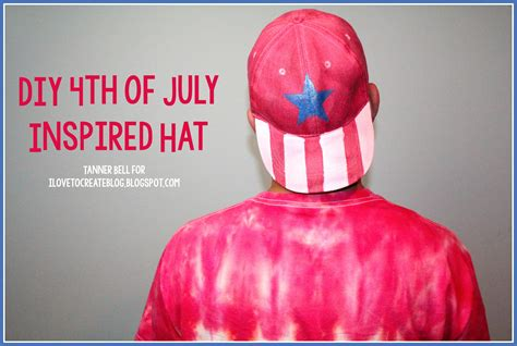 Diy Th Of July Inspired Hat A Little Craft In Day