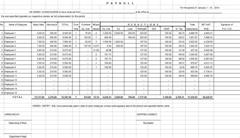 Spa500s Template employee payroll excel template 28 images best photos