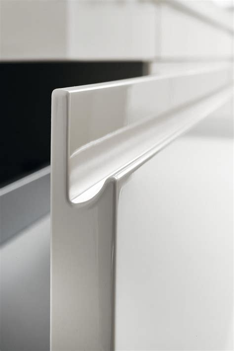 edge profile showroom modern design bespoke kitchens