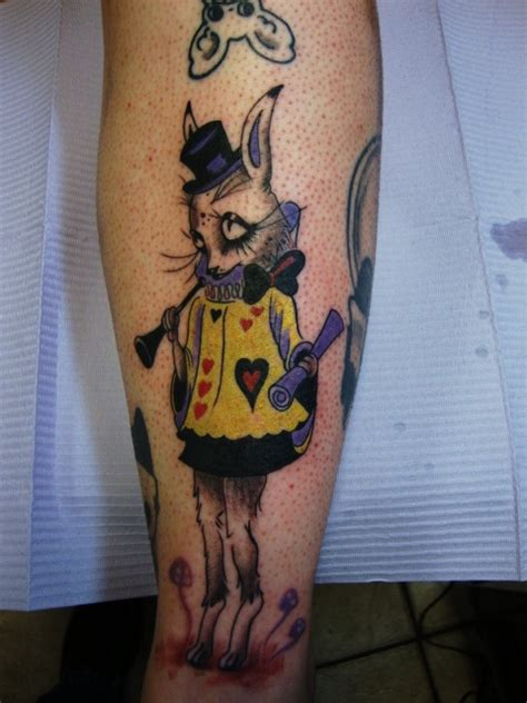 camille rose garcia tattoo camille garcia white rabbit tattoos