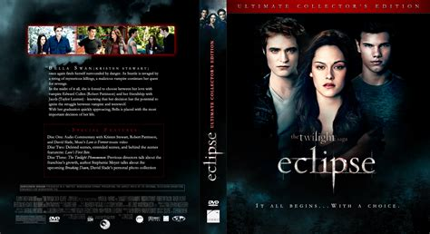 dvd slipcover dvd covers twilight saga eclipse 2010 dvd cover