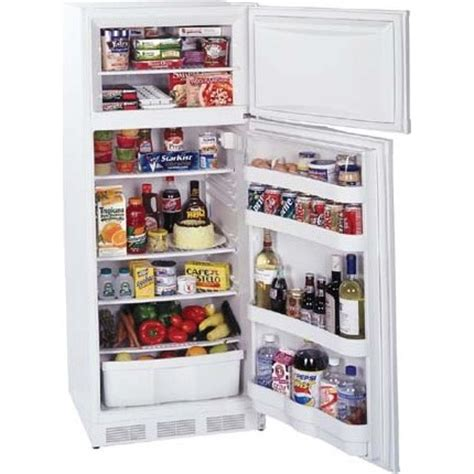What Is Cycle Defrost Refrigerator by Broan Two Door Refrigerator Freezer With Cycle Defrost White