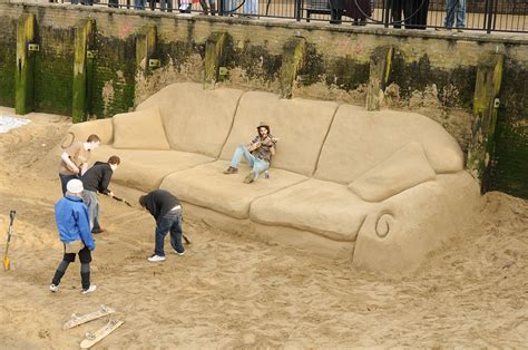world s biggest sofa largest sofa made from sand markpascua com