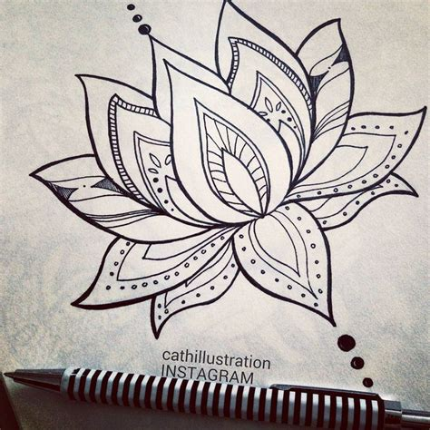 Easy To Draw Chandelier Drawn Lotus Pinterest Pencil And In Color Drawn Lotus