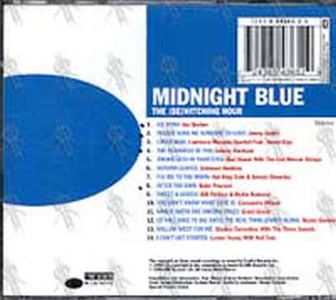 midnight blue books various artists midnight blue album cd records