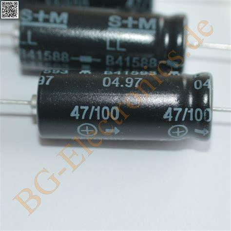Elko Axial 68uf100v 5 x 47 181 f 47uf 100v elko kondensator capacitor axial b41588
