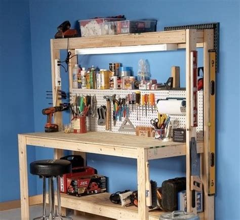 Workbench Plans   5 You Can DIY in a Weekend   Bob Vila