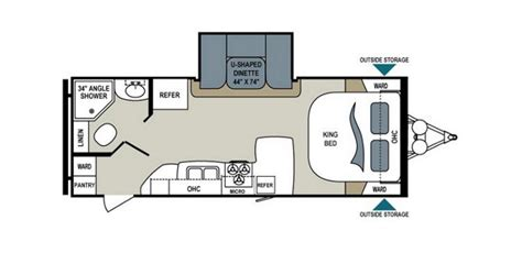 aerolite floor plans 2013 dutchmen aerolite 225rbsl travel trailer southaven