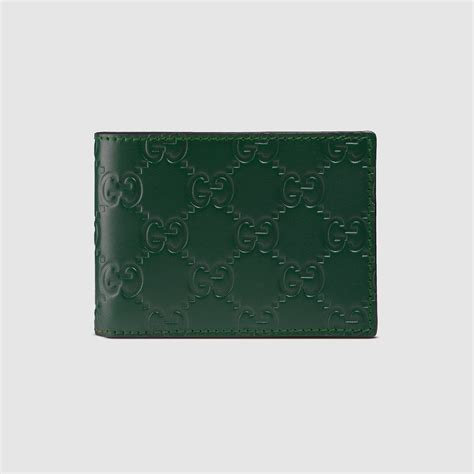 One Set Gucci Premium 8 gucci signature wallet in green for lyst