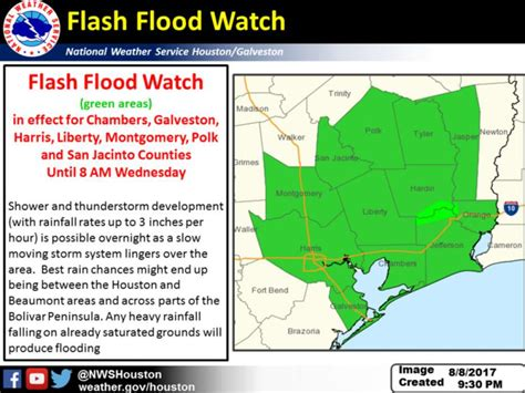 flash flood watch cancelled for houston area houston