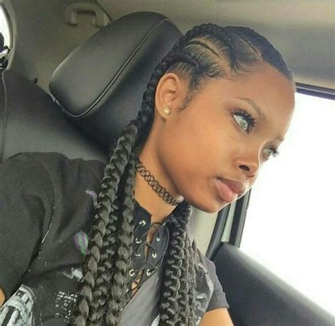 Pics Of Braids Going All Back Of Black Women | braidedupforthesummer 19 magnificent braided styles to