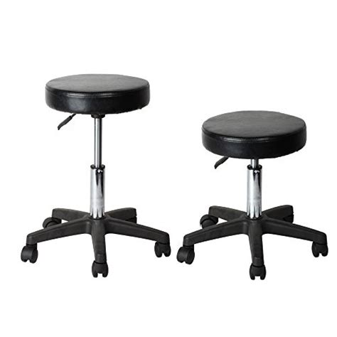 adjustable office stool with wheels flexzion rolling swivel stool pneumatic work chair