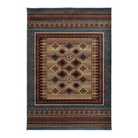 rizzy home bv3712 bellevue blue rug discount furniture at