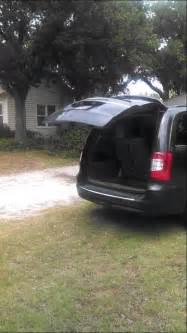 Why Chrysler Failed Chrysler Town Country 2011 Liftgate Fail