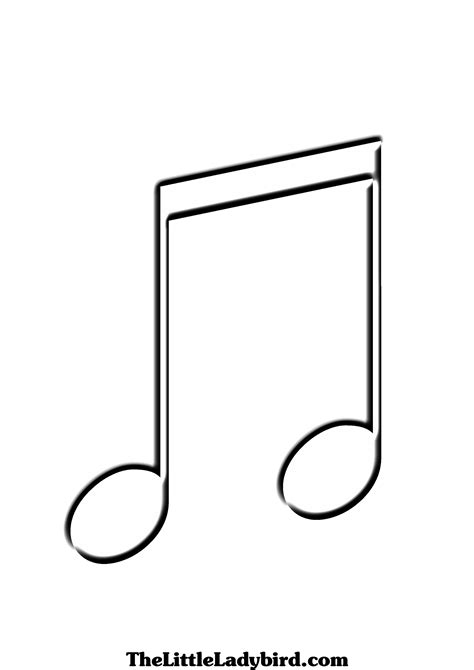 free coloring pages of do musical notes