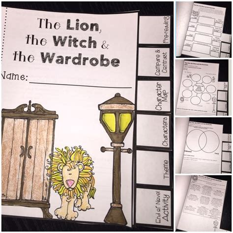 Activities For The The Witch And The Wardrobe by The World S Catalog Of Ideas