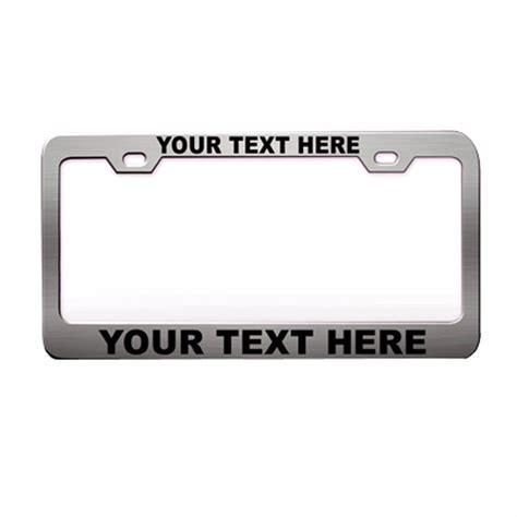personalized license plate frames popular personalized license plate frames buy cheap