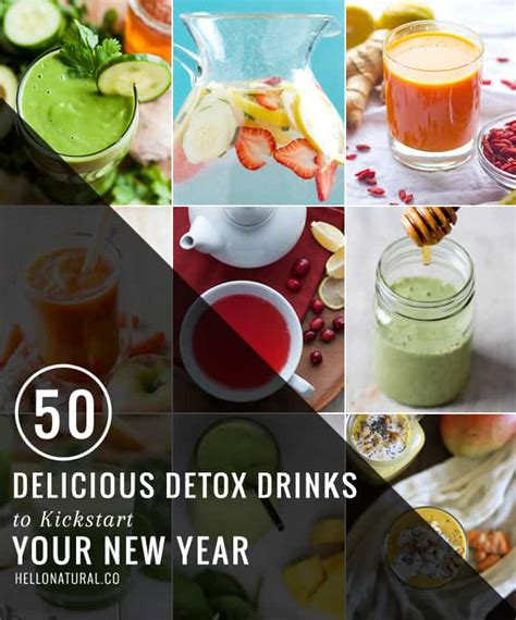 Delicious Detox Drinks by 50 Delicious Detox Drinks Teas Juices Smoothies More