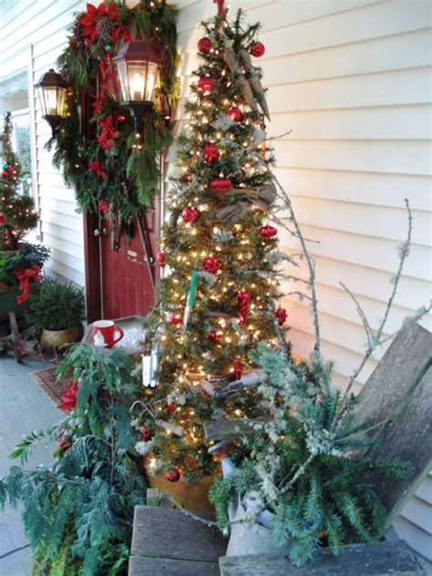 front porch christmas trees debra prinzing 187 2010 187 december