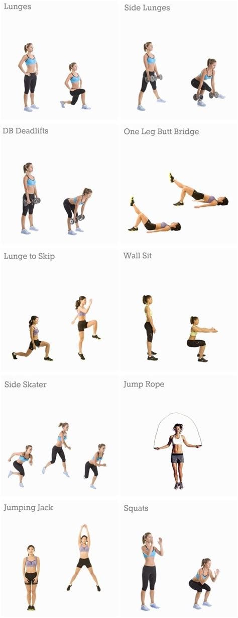 25 best ideas about leg toning exercises on
