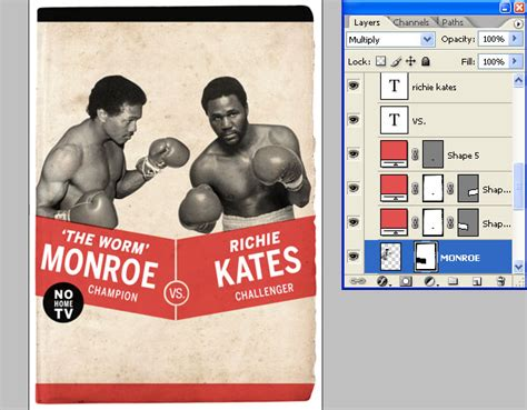 boxing poster template vintage boxing poster template www pixshark images