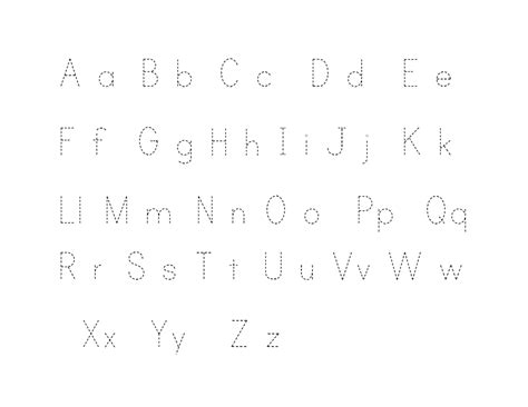 printable tracing alphabet letters printable traceable alphabet letters activity shelter