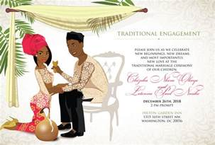 Wedding Reception Program Wording Nigerian Traditional Wedding Invitation Card Igbo Engagement Invitation Card
