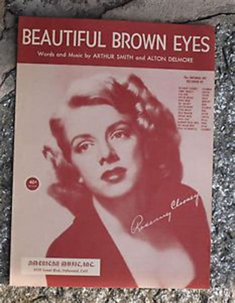 rosemary clooney beautiful brown eyes 351 best 40 s 50 s and 60 s sheet music images on