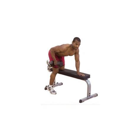 Banc De Musculation Bodysolid by Bodysolid Banc Plat Gfb350