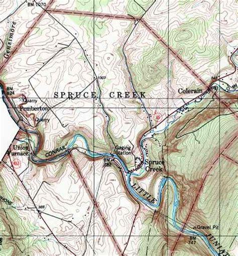 Huntingdon County Pennsylvania Township Maps Knightsville