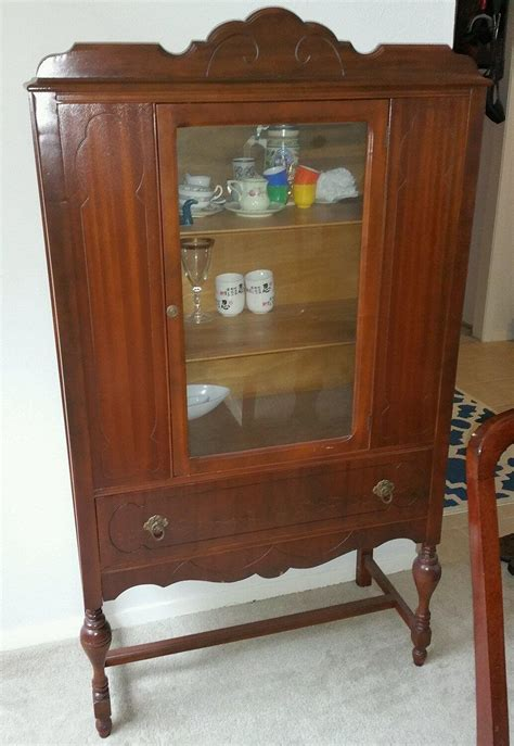 china cabinet in antique china cabinet 1930s 1940s for sale in dallas