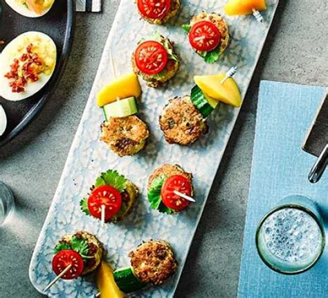 no cook office christmas party food curried fishcake bites recipe food
