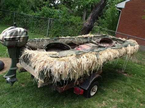willie boats duck blind making a jon boat woodworking projects plans