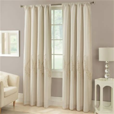 bed bath and beyond linen curtains laurel window curtain panel bed bath beyond