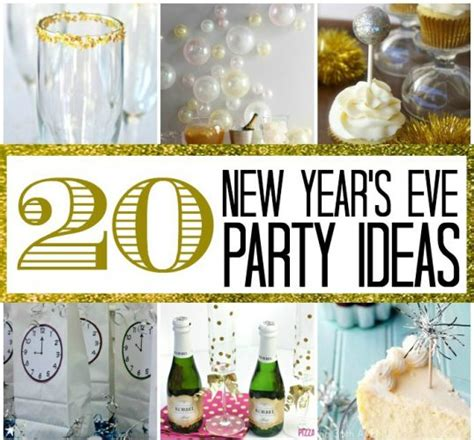 20 new year s eve party ideas here comes the sun