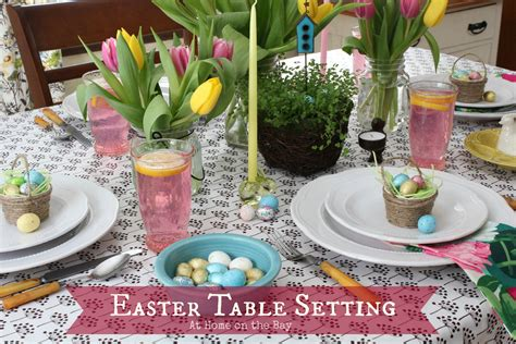 Easter Table Settings by Easter Table Setting