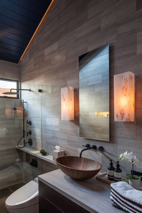 get inspired by these 21 contemporary bathrooms