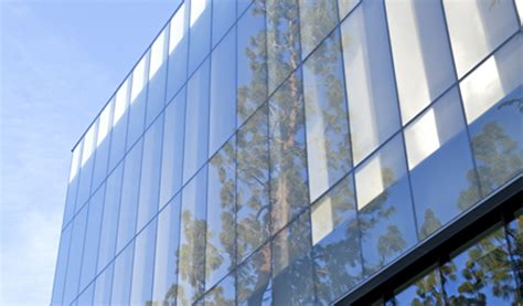 glazed curtain wall henry madden library california state university at